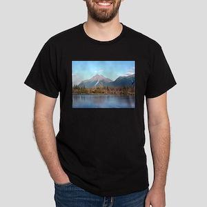 Alaskan mountains,forest and river, Alaska T-Shirt