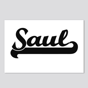 Saul Classic Retro Name D Postcards (Package of 8)