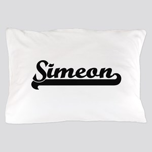 Simeon Classic Retro Name Design Pillow Case