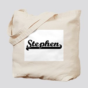 Stephen Classic Retro Name Design Tote Bag
