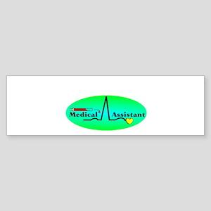 Medical Assistant Bumper Sticker
