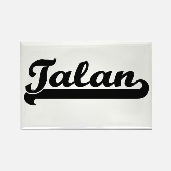 Talan Classic Retro Name Design Magnets
