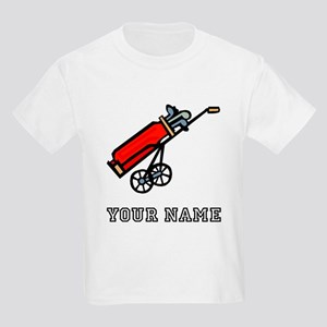 Golf Bag On Wheels (Add Name) T-Shirt