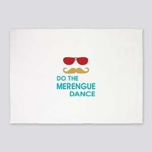 Do The Merengue Dance 5'x7'Area Rug