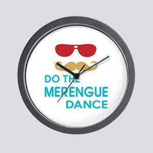 Do The Merengue Dance Wall Clock