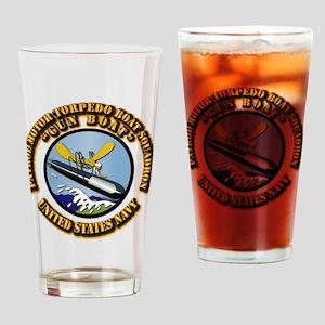 Patrol Motor Torpedo Boat Squadron Drinking Glass