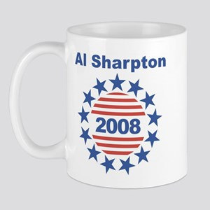 Al Sharpton stars and stripes Mug