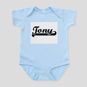 Tony Classic Retro Name Design Body Suit