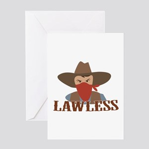 Lawless Greeting Cards