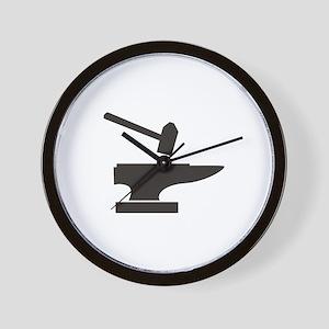 Hammer & Anvil Wall Clock