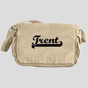 Trent Classic Retro Name Design Messenger Bag