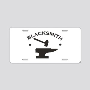 Blacksmith Aluminum License Plate