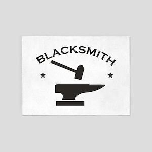 Blacksmith 5'x7'Area Rug