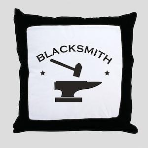 Blacksmith Throw Pillow