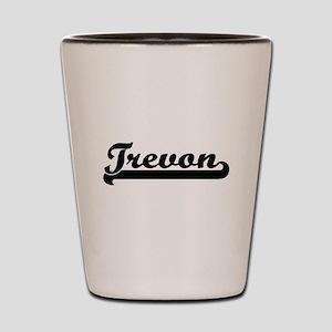 Trevon Classic Retro Name Design Shot Glass
