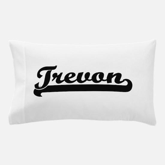 Trevon Classic Retro Name Design Pillow Case