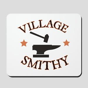 Village Smithy Mousepad