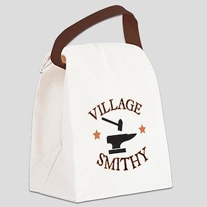Village Smithy Canvas Lunch Bag