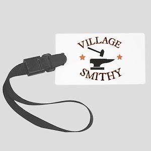 Village Smithy Luggage Tag