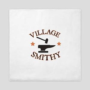 Village Smithy Queen Duvet