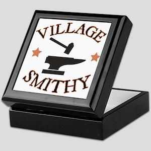 Village Smithy Keepsake Box