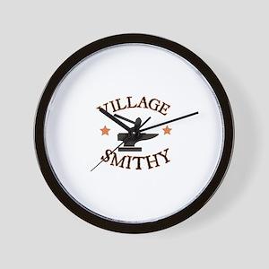 Village Smithy Wall Clock