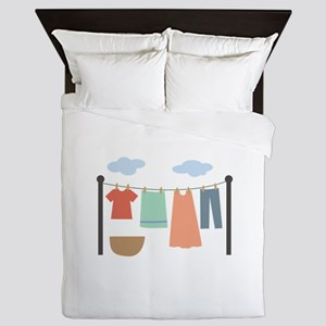 Clothesline Queen Duvet