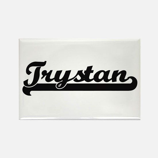 Trystan Classic Retro Name Design Magnets