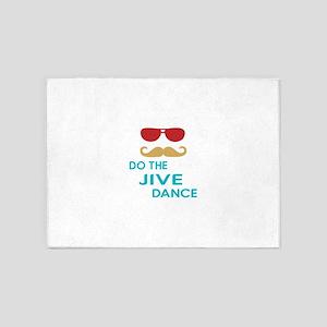 Do The Jive Dance 5'x7'Area Rug