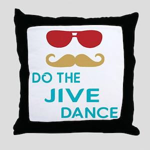 Do The Jive Dance Throw Pillow