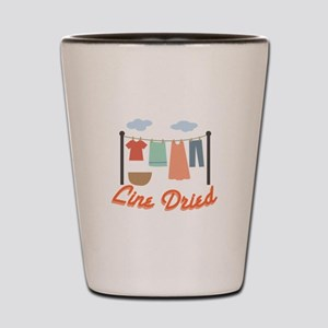 Line Dried Shot Glass