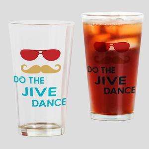 Do The Jive Dance Drinking Glass