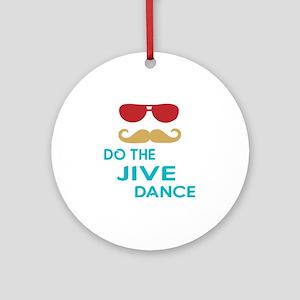 Do The Jive Dance Round Ornament