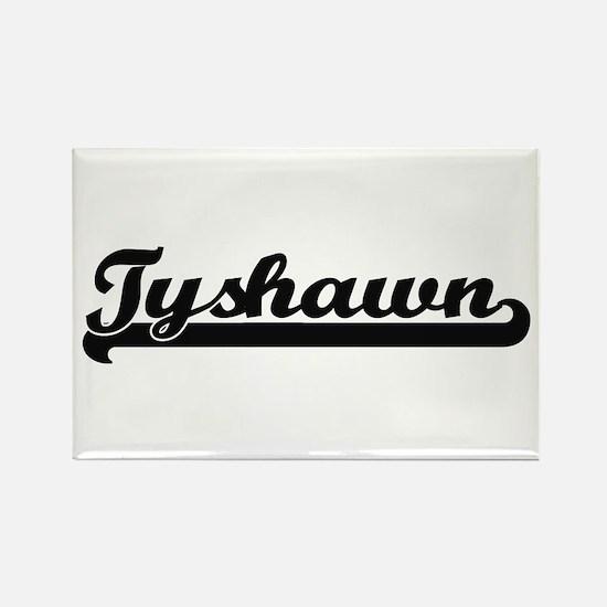Tyshawn Classic Retro Name Design Magnets