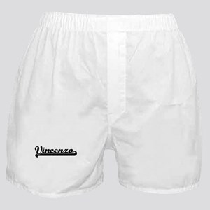 Vincenzo Classic Retro Name Design Boxer Shorts