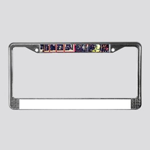 San Francisco Cable Car License Plate Frame