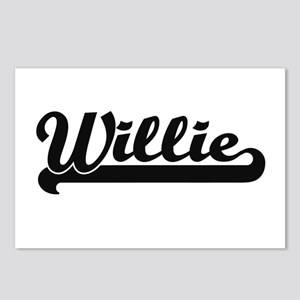 Willie Classic Retro Name Postcards (Package of 8)