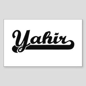 Yahir Classic Retro Name Design Sticker