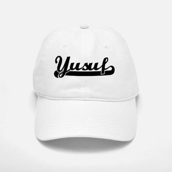 Yusuf Classic Retro Name Design Baseball Baseball Cap