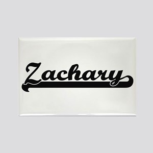 Zachary Classic Retro Name Design Magnets
