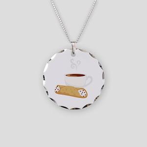 Cannoli & Coffee Necklace
