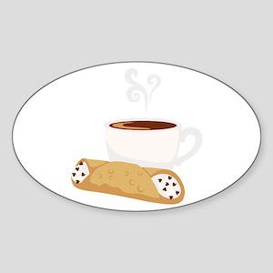 Cannoli & Coffee Sticker