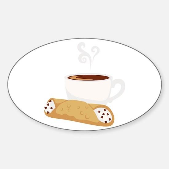 Cannoli & Coffee Decal