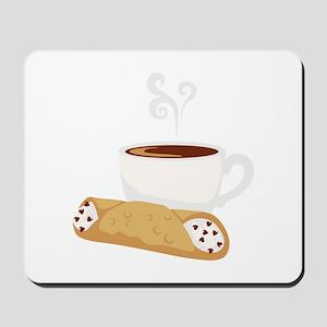 Cannoli & Coffee Mousepad