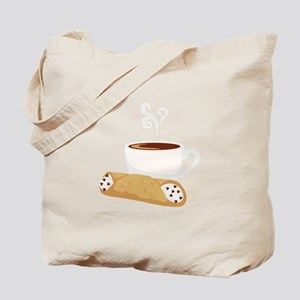 Cannoli & Coffee Tote Bag