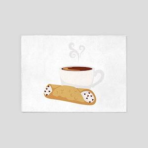 Cannoli & Coffee 5'x7'Area Rug