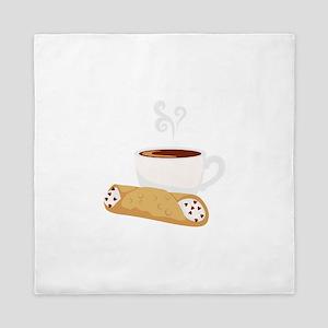Cannoli & Coffee Queen Duvet