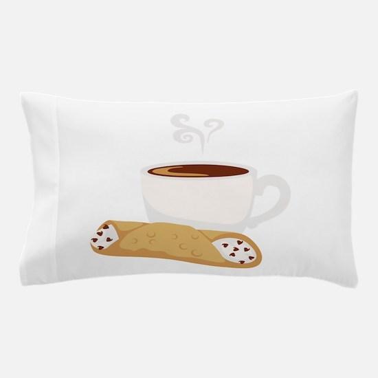 Cannoli & Coffee Pillow Case