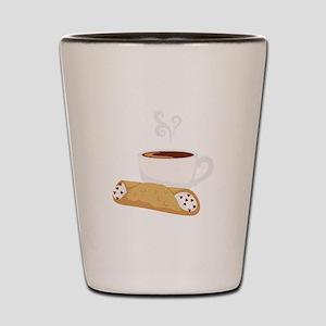 Cannoli & Coffee Shot Glass