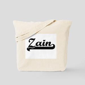 Zain Classic Retro Name Design Tote Bag